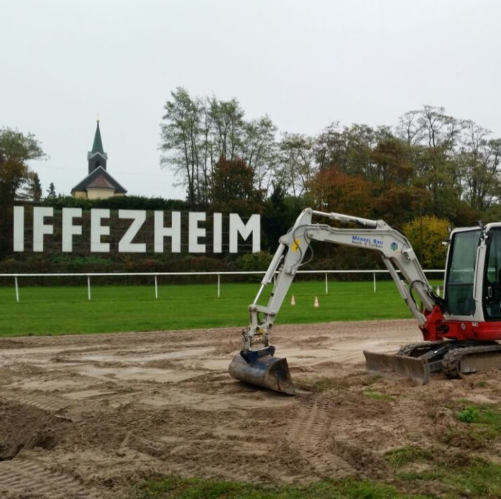 Bild: Iffezheim Baustelle
